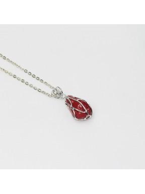 pendant with stone