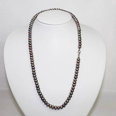 Collana in Perle colorate