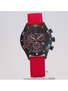 TIMEX crono red